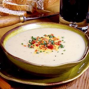 Supa de cartofi traditionala irlandeza