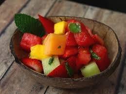 Salata de fructe Mojito
