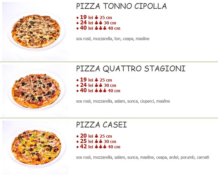 comanda pizza sector 5