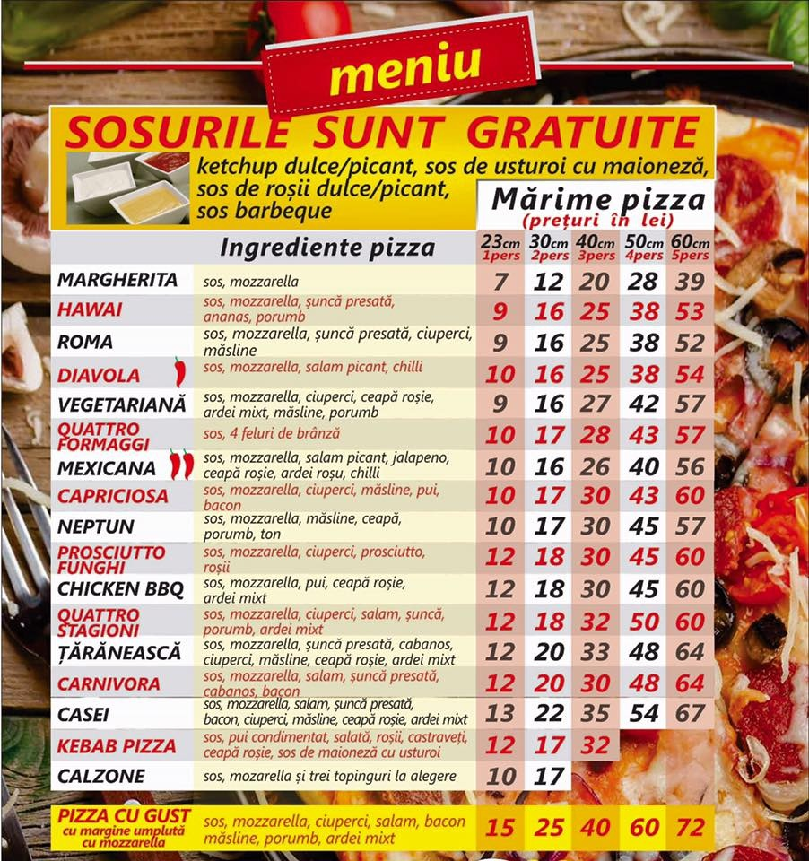 pizza tecuci